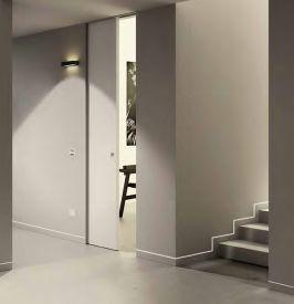 1. Aliuminio profiliai įleistoms į sieną grindjuostėms (60 mm)